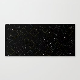 Tipping Squares Canvas Print