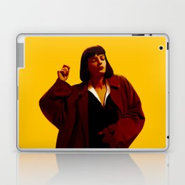 Mia Wallace - Yellow Laptop & iPad Skin