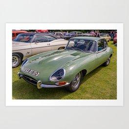 Classic sports car Art Print