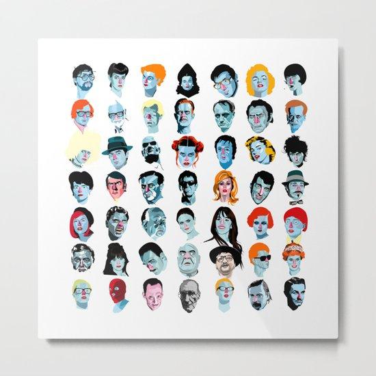 Heads 02 Metal Print