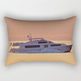 Big Money on the Sea Rectangular Pillow