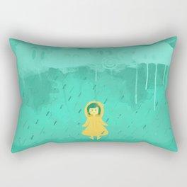 Rain friends Rectangular Pillow