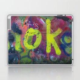 Say that you love me. Laptop & iPad Skin