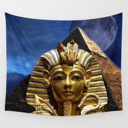 King Tut and Pyramid Wall Tapestry