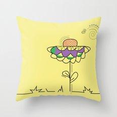 A summer's day Throw Pillow