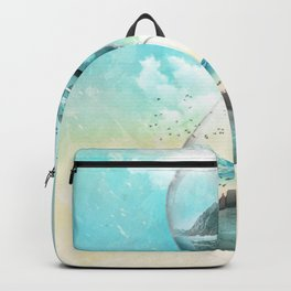 11th Hour Glass Backpack