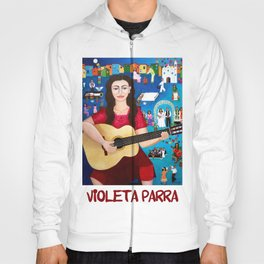 "Violeta Parra and the song ""Black wedding II"" Hoody"
