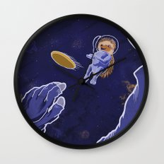 Frisbee Spread Wall Clock