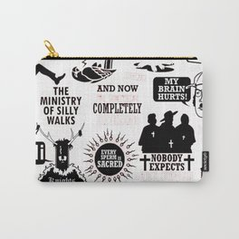 Monty Python Quotes Carry-All Pouch
