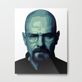 HEISENBERG | BREAKING BAD Metal Print