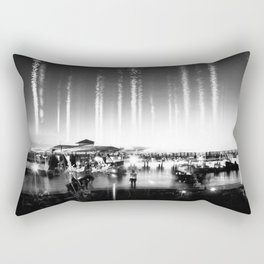 Being at Shore Rectangular Pillow