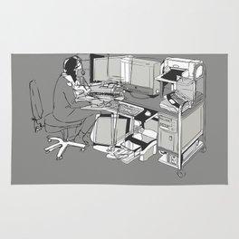COMPUTER OFFICE WORKER Rug