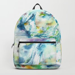 GIUSEPPE VERDI - watercolor portrait Backpack