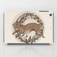 rabbit iPad Cases featuring Rabbit by Jessica Roux
