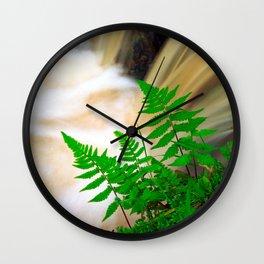 Ferrous thermal water Wall Clock