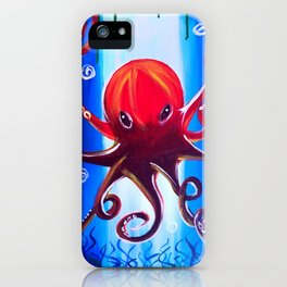 Dancing Octopus iPhone Case