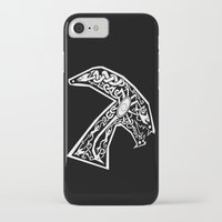 xenomorph iPhone & iPod Cases featuring Celtic xenomorph by ronnie mcneil