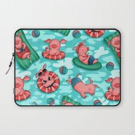 Summer Lovin' Pigs Laptop Sleeve
