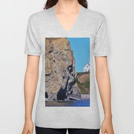 Cliffside Coastal Home Unisex V-Neck