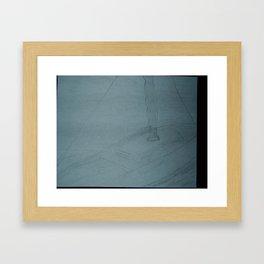 Zoe's Art Stuff - Sailboat Drawing Framed Art Print