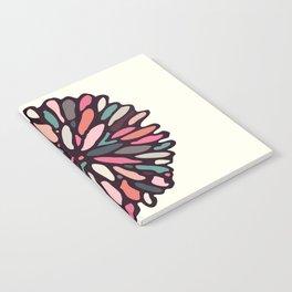 Retro Light Dahlia Notebook