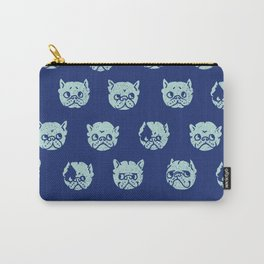Polka Dot Frenchie Carry-All Pouch