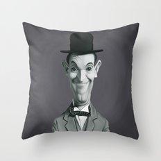 Stan Laurel Throw Pillow