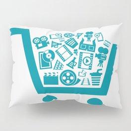 Cinema a cart Pillow Sham