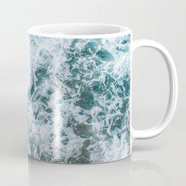 Waves in Abstract Coffee Mug