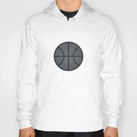 basketball Hoodies featuring BASKETBALL- basketball by Raisya
