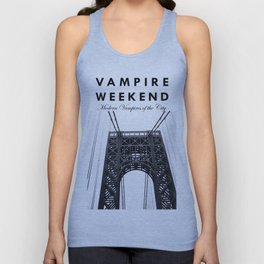 Vampire Weekend / George Washington Bridge Unisex Tank Top