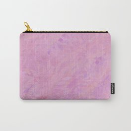 Pink and Purple Textured Abstract Carry-All Pouch