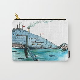 Steamboat Whale Carry-All Pouch