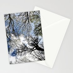 Vertical Trees Stationery Cards