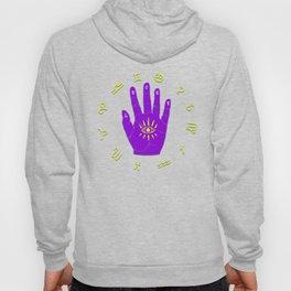 Zodiac Hand Eye Hamsa Hoody
