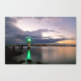 Light at Bradley's Head Canvas Print