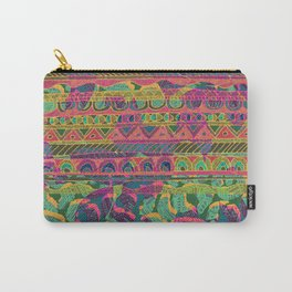 Tribal Stripe Carry-All Pouch