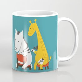 Zebra Tattoo Coffee Mug