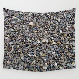 What Stories You Could Tell... Rocks of Jasper Beach Wall Tapestry