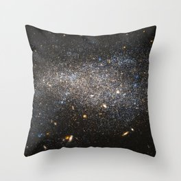 s Hubble image shows NGC 4789A, a dwarf irregular galaxy in the constellation of Coma Berenices Throw Pillow