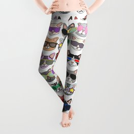 Hollywood Cats Leggings