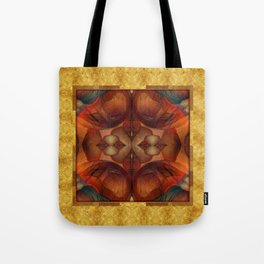 Chimera Gold & Blood Tote Bag