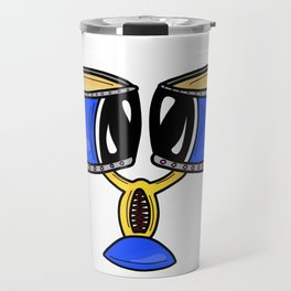 Banging the Drums, The Blues Travel Mug