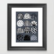 A Mixed Bag Framed Art Print