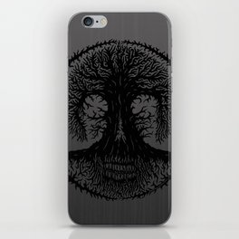 romkalah, black iPhone Skin