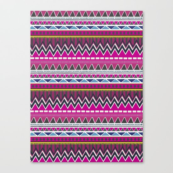 Aztec Pattern II Canvas Print