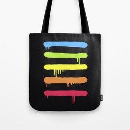 Trendy Cool Graffiti Tag Lines Tote Bag