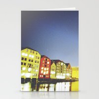 the shining Stationery Cards featuring shining night. by zenitt
