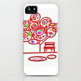garth - garden pop colorful iPhone Case