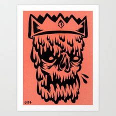 king drippy Art Print